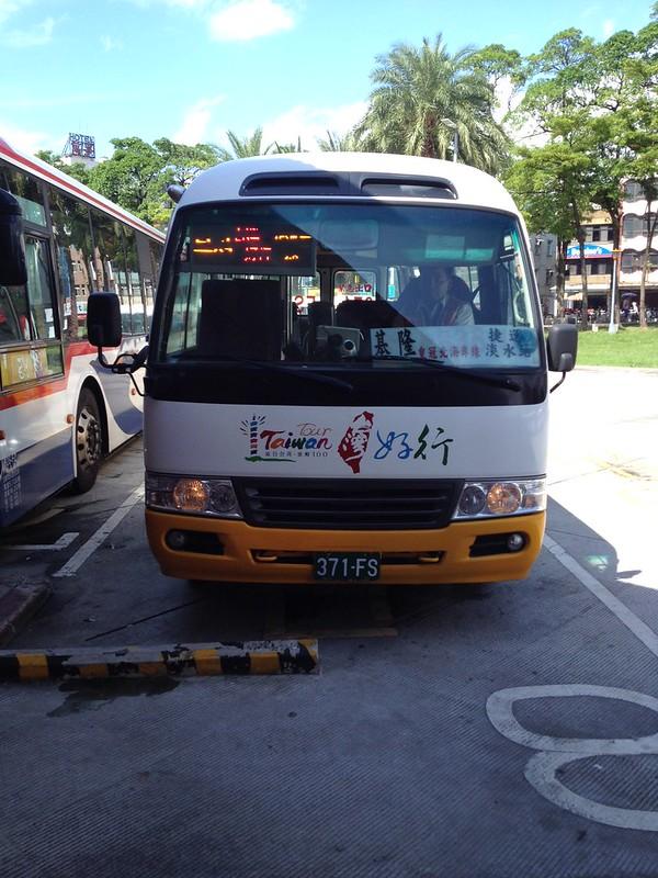 淡水から台湾好行バス by haruhiko_iyota