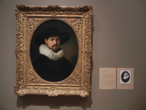 DSCN7600 _ Portrait of a Bearded Man in a Wide Brimmed Hat, 1633, Rembrandt van Rijn (1606-1669), Norton Simon Museum, July 2013
