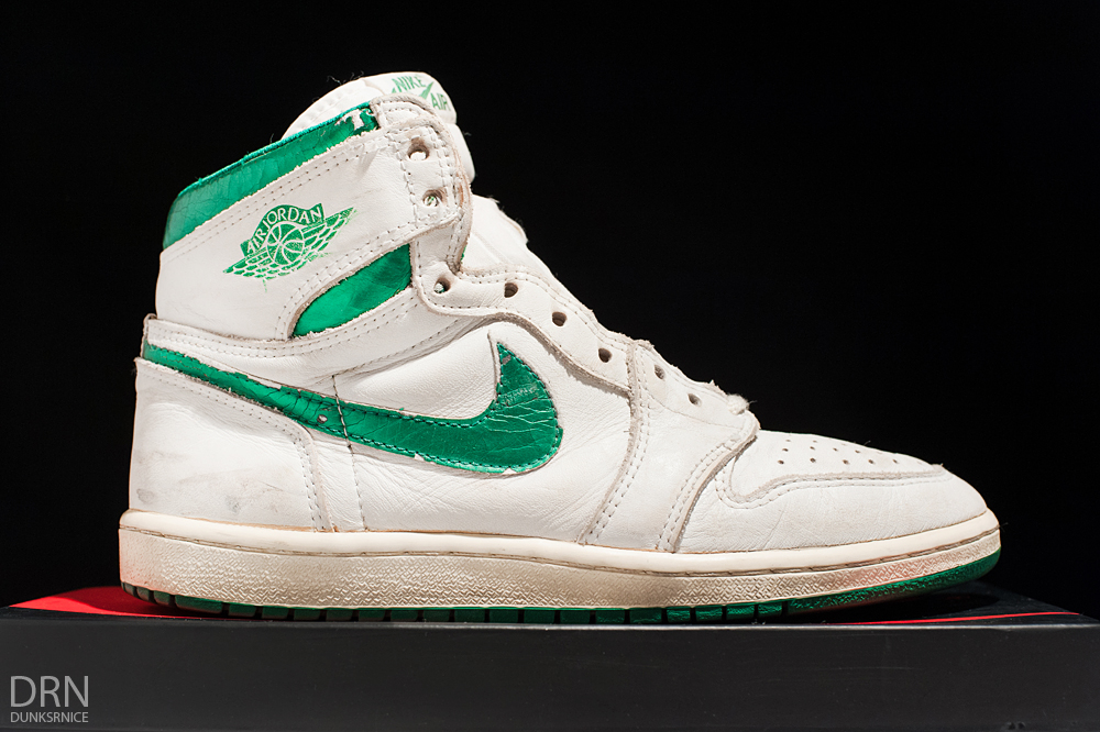 1985 Metallic Green & White I's.