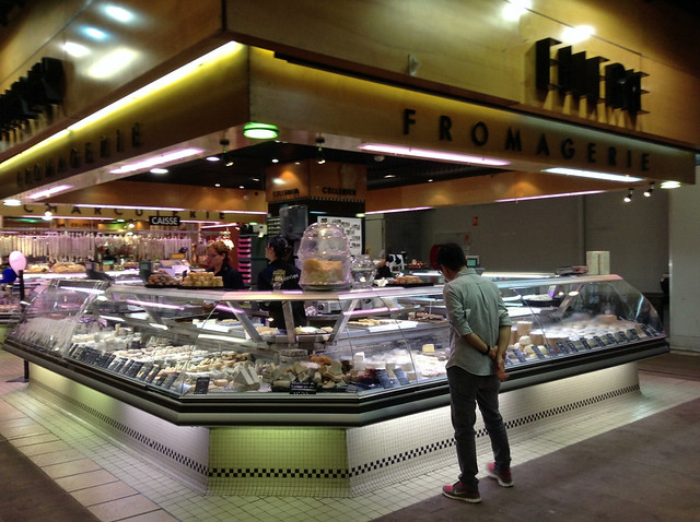 Checking out the food - Les Halles de Lyon Paul Bocuse