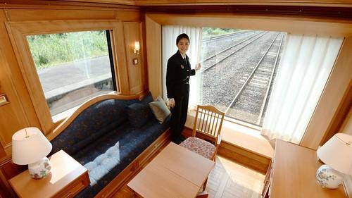 Tren 7 estrellas Japón