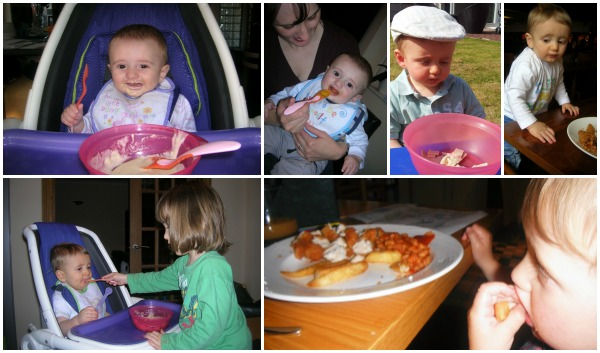 A Child's Eating Habits Collage