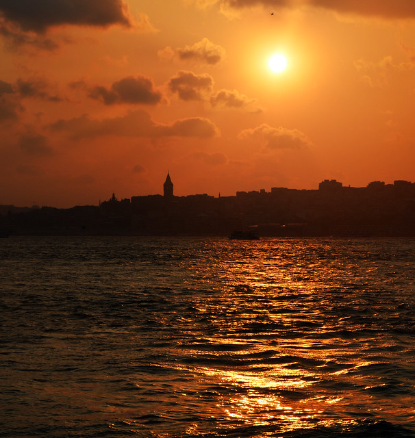 Magic hour in Istambul