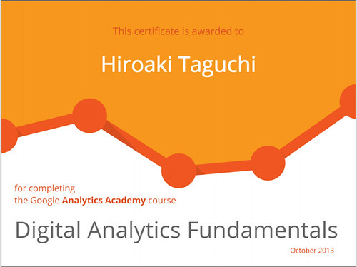 Google Analytics Fundamentals