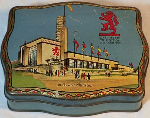 Tin Sovenir of Empire Exhibition 1938