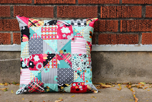 Nordika Mystery Pillow by Jeni Baker