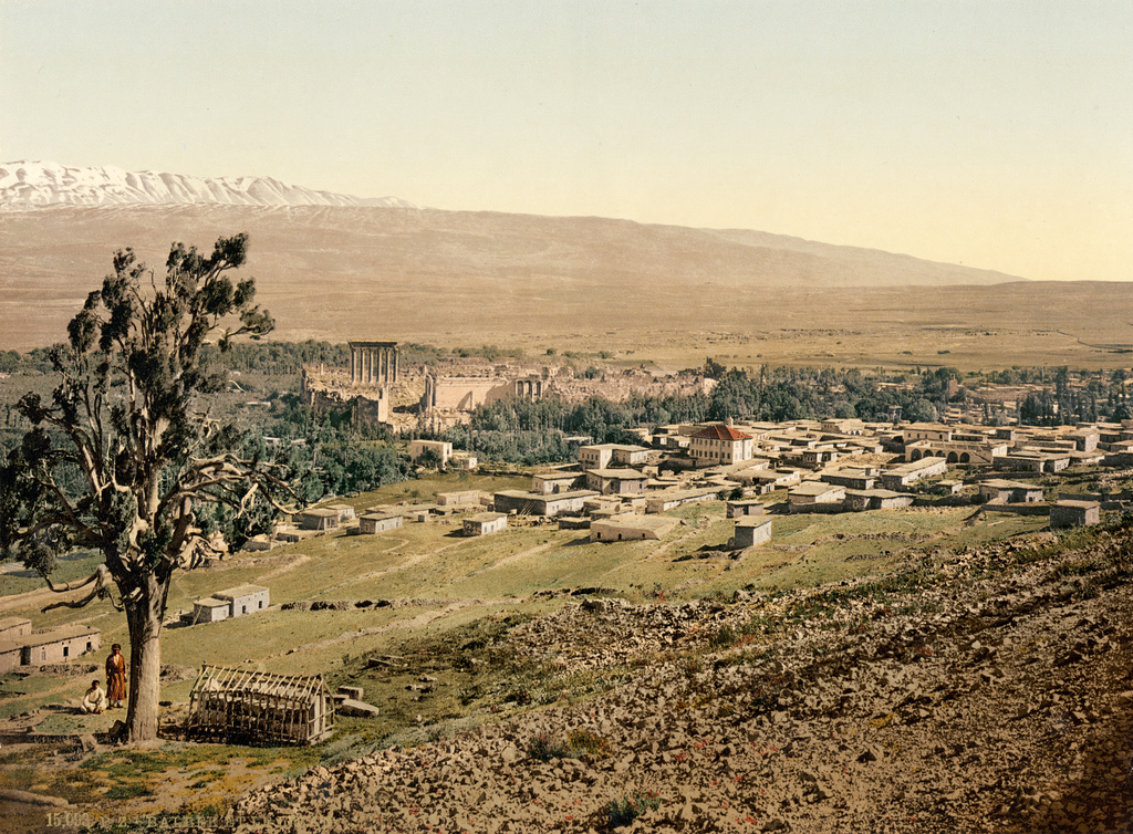 9. Baalbek. Tierra Santa. 1895. Autor, Trialsanderrors