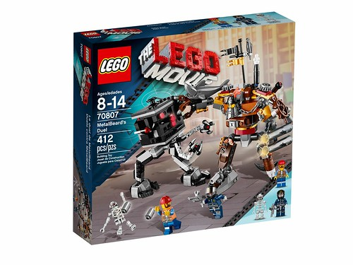 The LEGO Movie 70807 - MetalBeard's Duel