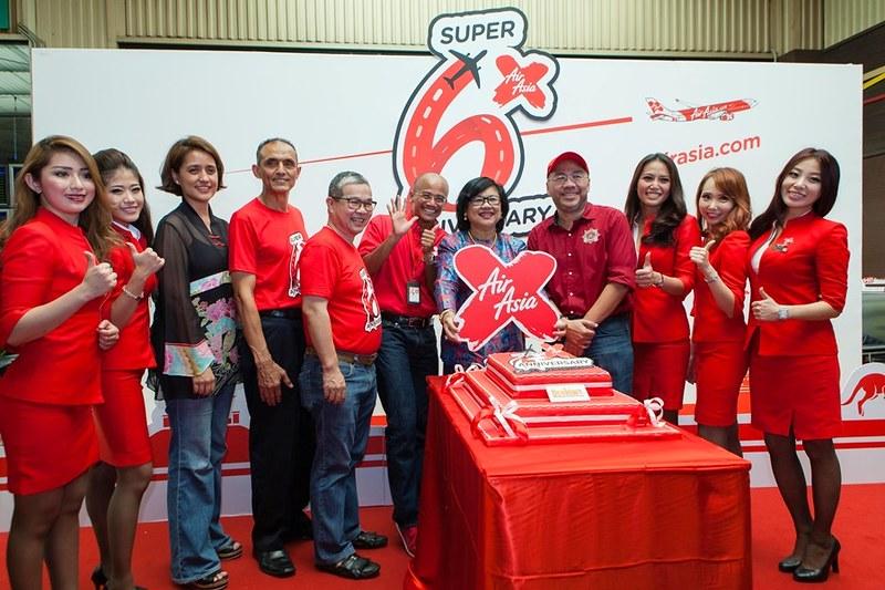 AirAsia X 6th Anniversary Pic