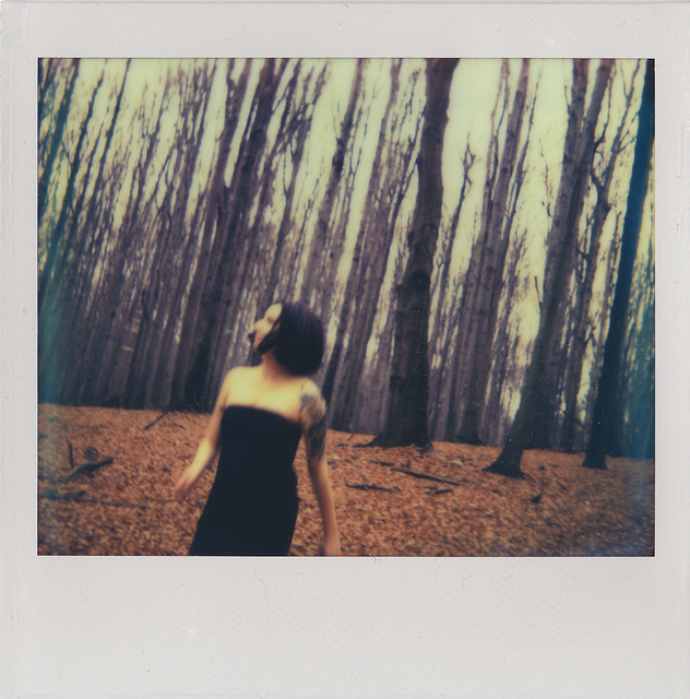 Karola in a forest - Copyright © 2013 Marcin Michalak Photography.