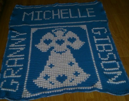 Angel blanket for Michelle