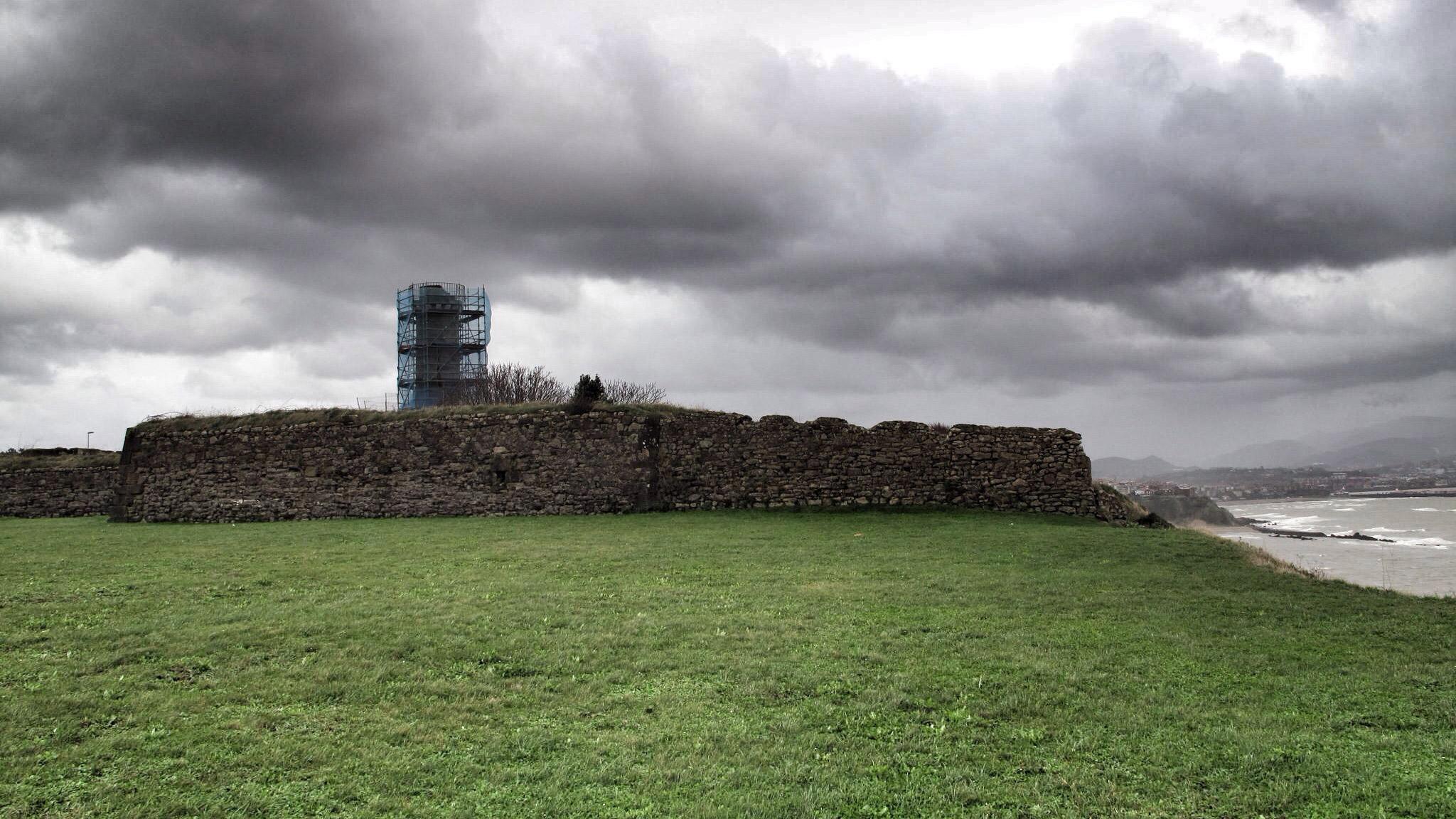fuerte de la galea_siglo XVIII_construcción_coronel Jaime_Sycre_arquitectura defensiva_bizkaia