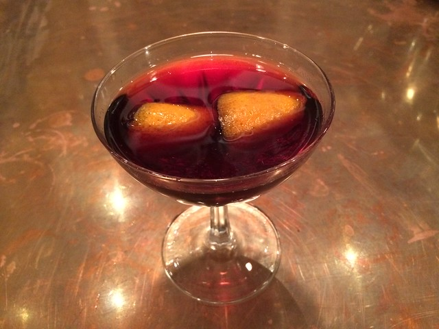 Barolo Vermouth Cocktail - Barnacle