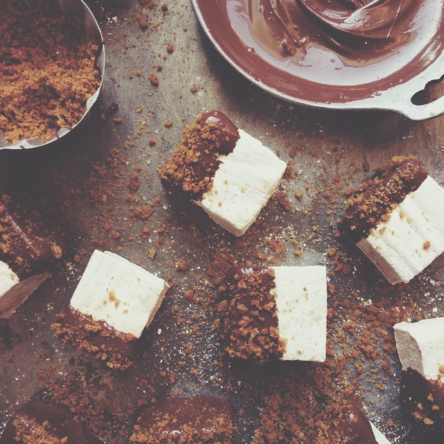 Gingerbread Spiced Marshmallows