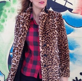 Zara leopard coat 3