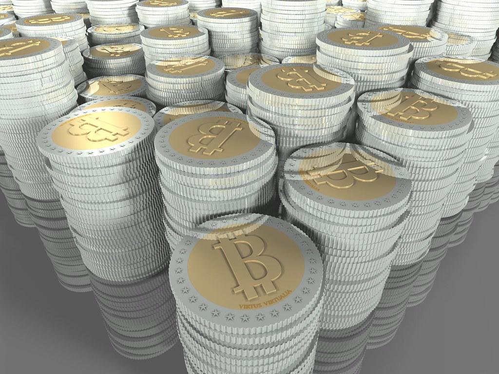 bitcoins piles