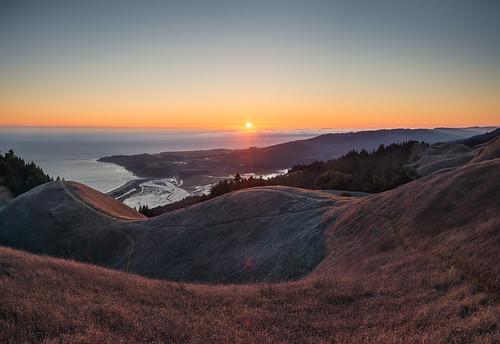 california ca sunset panorama northerncalifornia nikon voigtlander bayarea handheld mttam 40mm mounttamalpais kevinmacleod voigtlander40mmf20 d800e nikond800e unrangedcom