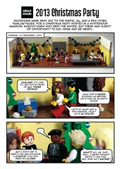 2013 Christmas Party comic strip (1/8)