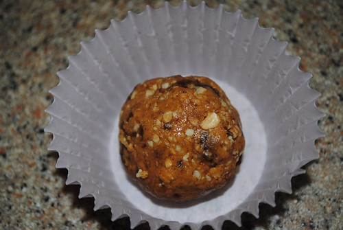 Peanut Date Cookie Dough Ball