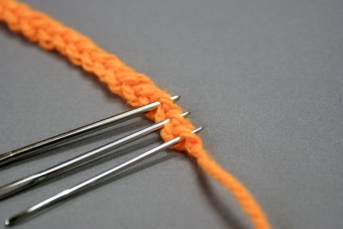 鎖編みの作り目