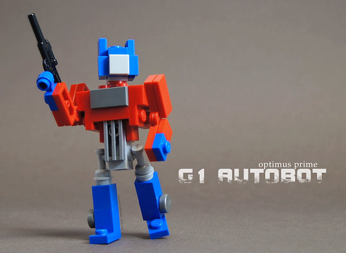 G1 Optimus Prime by customBRICKS