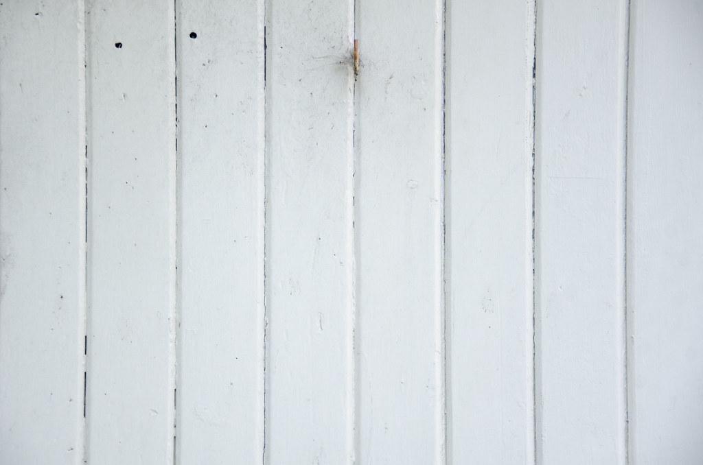 Photo: Painted white wooden door texture - Andrew Beeston