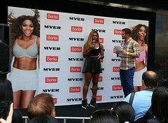 86ddf62f9a292 Serena Williams promoting her new Berlei sports bra