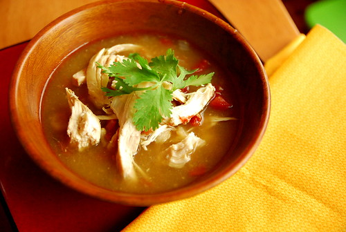 Crock Pot Chicken Posole