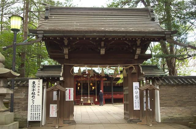 赤坂氷川神社 神門
