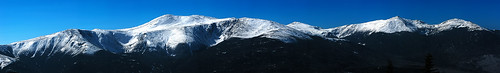 The Presidential Range, NH by MakriGraphics