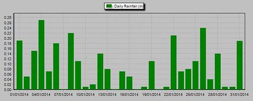 rainfall 2014 January