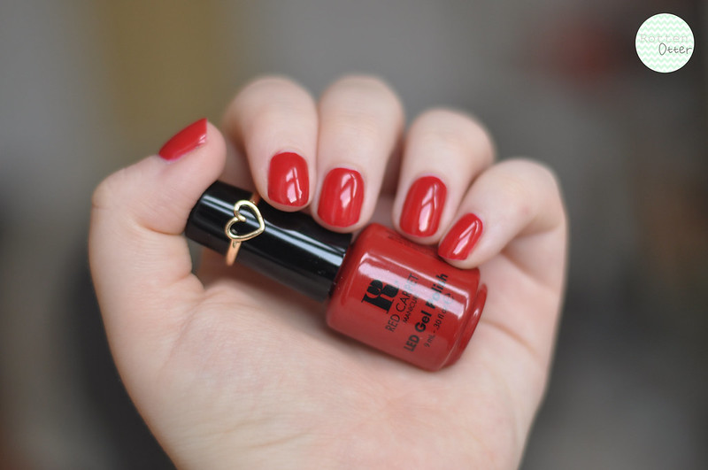notd red carpet manicure at home gel nail polish red carpet reddy rottenotter rotten otter blog 2