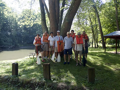 2009-08-13 - Bellbrook - BMB faculty canoe trip