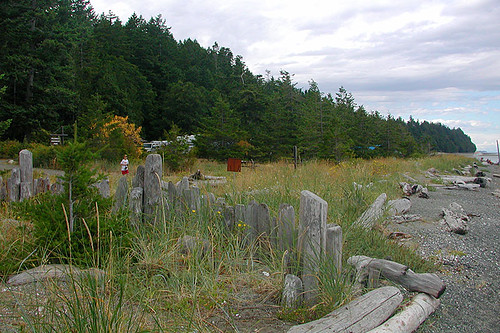 Fillongley Park, Denman Island, Gulf islands, British Columbia, Canada