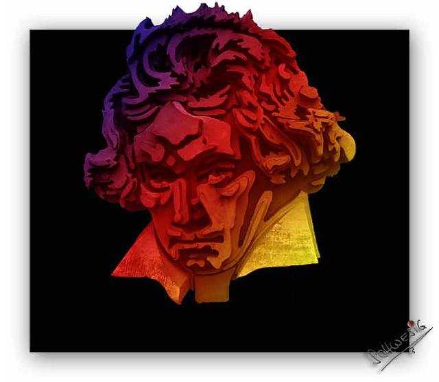 Ludwig van Beethoven (Portrait 18)