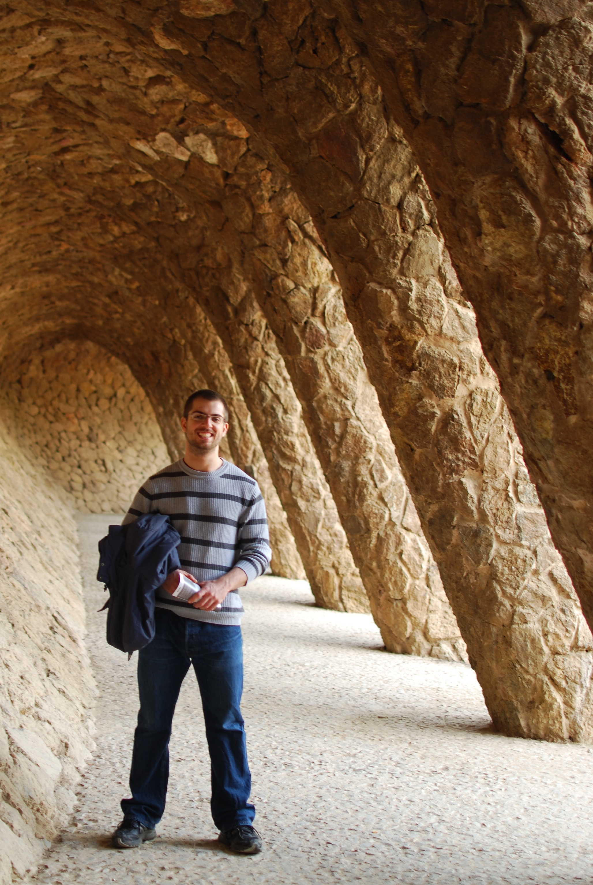 chambray and curls park guell