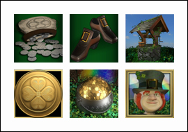 free Lucky Leprechaun's Loot slot game symbols
