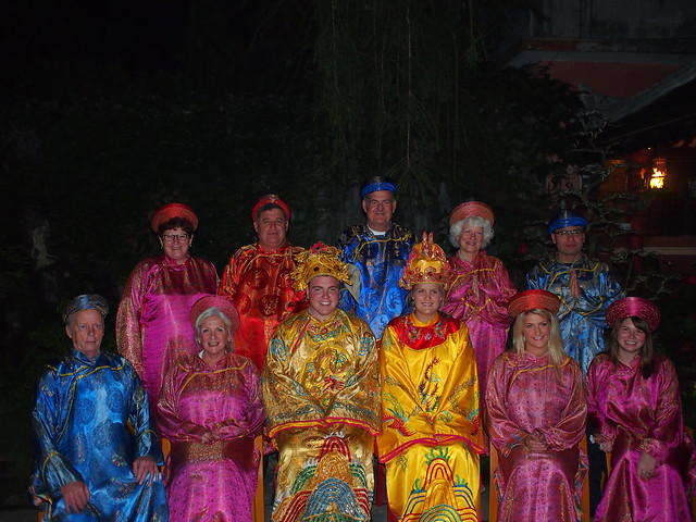 Royal Banquet dinner in Hue, Vietnam