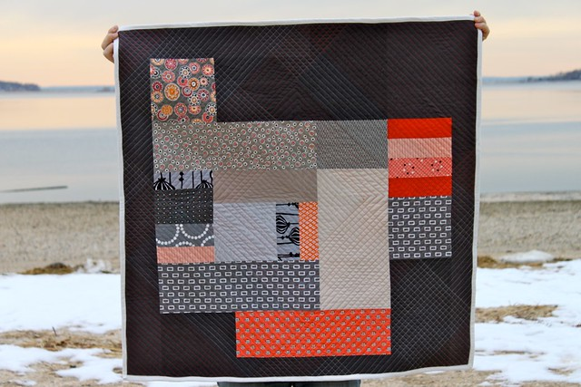 Carnelian & Iron Quilt (back)