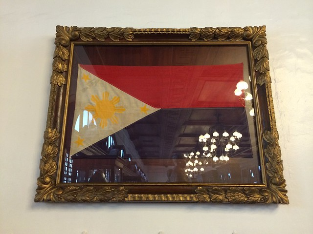 War time flag of the Philippines