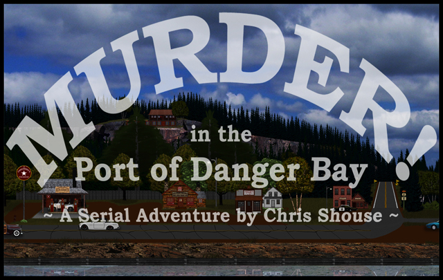 Murder in Danger Bay Banner ©2014 Jack Boardman
