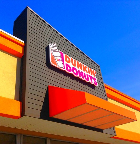 Dunkin' Donuts offers free Wi-Fi and often has a police presence