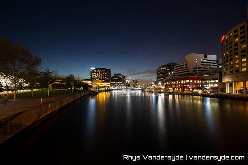 The City at Night - Melbourne, Australia, 2014
