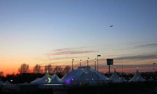 Les tentes du cirque
