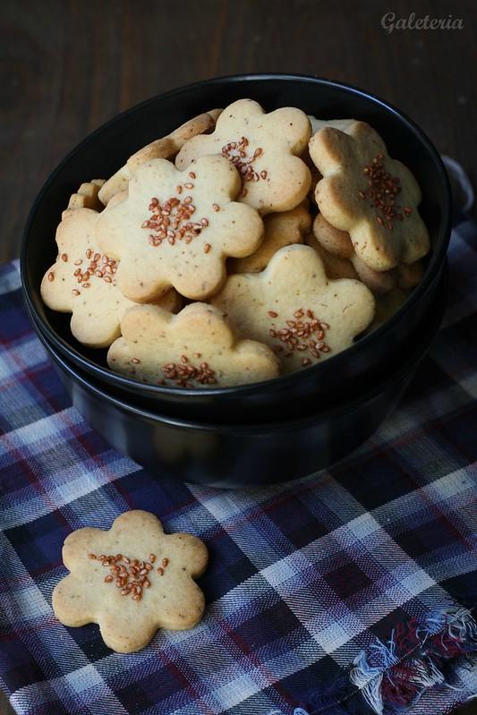 galletas de yuzu y sesamo