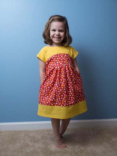 Leah's dress