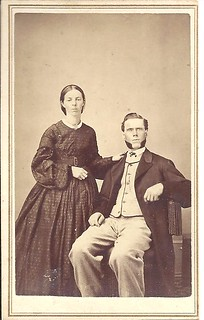 Another 1860's Couple In Elgin, Illinois