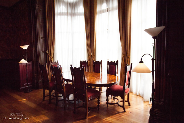 Formal dining area of Sir George Gilbert Scott Suite