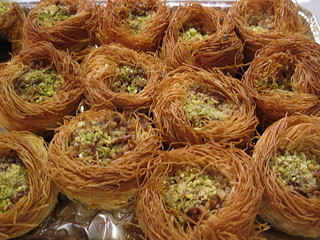 A Whole Nest of Bird Nest Baklava