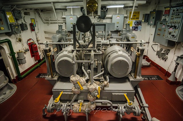 Engine Room 3 USS Turner Joy (DD-951)